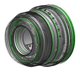 XF35mm F/2 partes